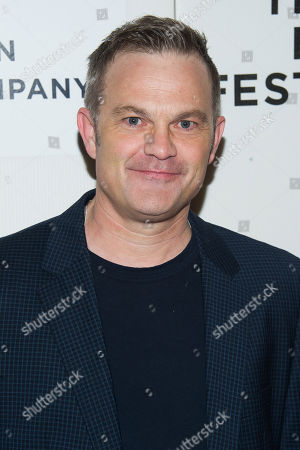 """Stock Picture of Brett Baker attends the Tribeca Film Festival world premiere of """"Maggie"""" at BMCC Tribeca Performing Arts Center, in New York"""
