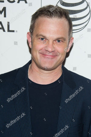 """Stock Image of Brett Baker attends the Tribeca Film Festival world premiere of """"Maggie"""" at BMCC Tribeca Performing Arts Center, in New York"""