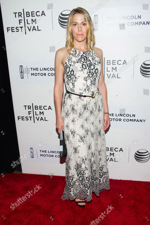 """Stock Picture of Rachel Whitman Groves attends the Tribeca Film Festival world premiere of """"Maggie"""" at BMCC Tribeca Performing Arts Center, in New York"""
