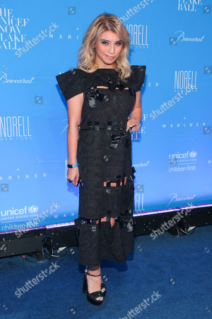 Kirstie Maldonado attends the U.S. Fund for UNICEF Snowflake Ball benefit at Cipriani Wall Street, in New York