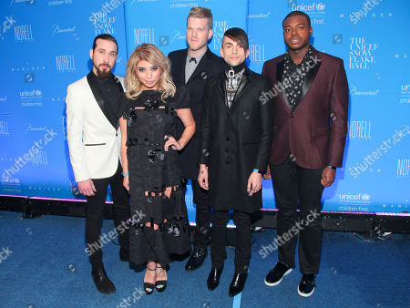Kirstie Maldonado and Pentatonix attend the U.S. Fund for UNICEF Snowflake Ball benefit at Cipriani Wall Street, in New York