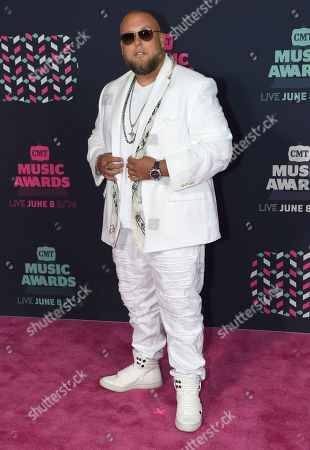 Big Smo arrives at the CMT Music Awards at the Bridgestone Arena, in Nashville, Tenn