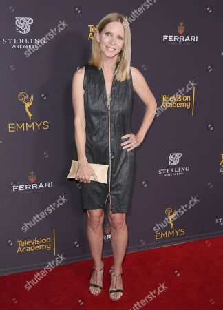 Lauralee Bell attends the 2016 Daytime Peer Group Celebration presented by the Television Academy at their Saban Media Center, in North Hollywood, Calif