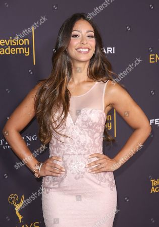 Stock Image of Manuela Arbelaez attends the 2016 Daytime Peer Group Celebration presented by the Television Academy at their Saban Media Center, in North Hollywood, Calif