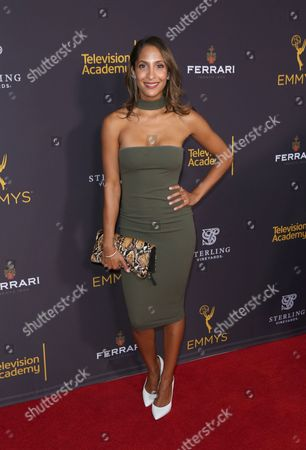 Stock Picture of Christel Khalil arrives at the 2016 Daytime Peer Group Celebration presented by the Television Academy at their Saban Media Center, in North Hollywood, Calif