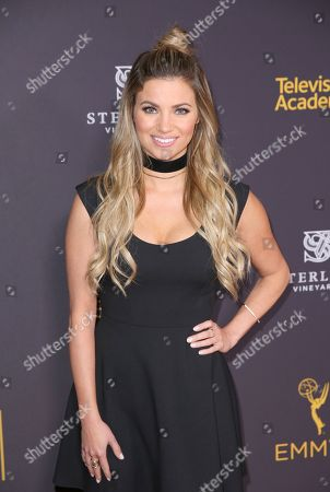 Stock Picture of Amber Lancaster attends the 2016 Daytime Peer Group Celebration presented by the Television Academy at their Saban Media Center, in North Hollywood, Calif