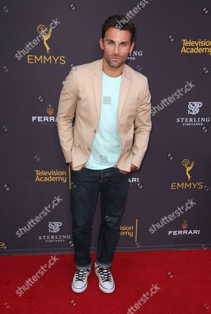 Erik Fellows arrives at the 2016 Daytime Peer Group Celebration presented by the Television Academy at their Saban Media Center, in North Hollywood, Calif