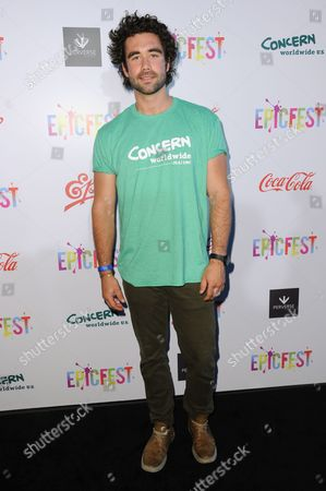 Gabe Kennedy attends 2016 EpicFest held at Sony Pictures Studios, in Culver City, Calif