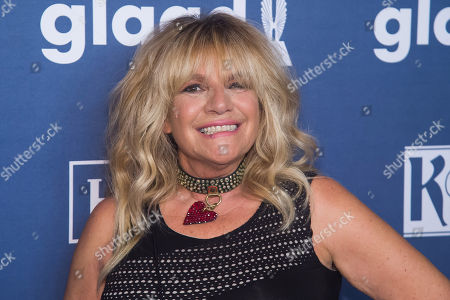 Robin Byrd attends the 27th Annual GLAAD Media Awards at the Waldorf Astoria, in New York. The GLAAD Media Awards recognize and honor media for their fair, accurate and inclusive representations of the lesbian, gay, bisexual and transgender (LGBT) community