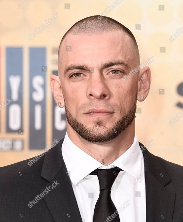 Stock Picture of Joe Schilling arrives at the Guys Choice Awards at Sony Pictures Studios, in Culver City, Calif