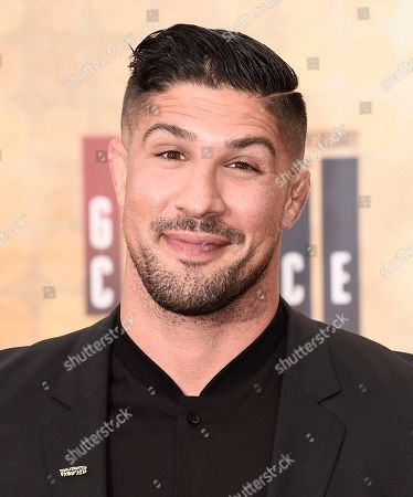 Brendan Schaub arrives at the Guys Choice Awards at Sony Pictures Studios, in Culver City, Calif