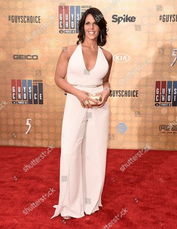 Dana Jacobson arrives at the Guys Choice Awards at Sony Pictures Studios, in Culver City, Calif