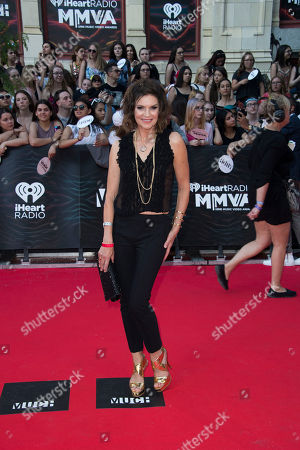 Wendy Crewson arrives at the 2016 iHeartRadio MuchMusic Video Awards, in Toronto, Canada