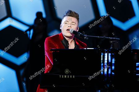 Shawn Hook seen at the 2016 iHeartRadio MuchMusic Video Awards, in Toronto, Canada