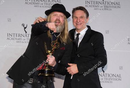 Editorial image of 2016 International Emmy Awards - Press Room, New York, USA - 21 Nov 2016