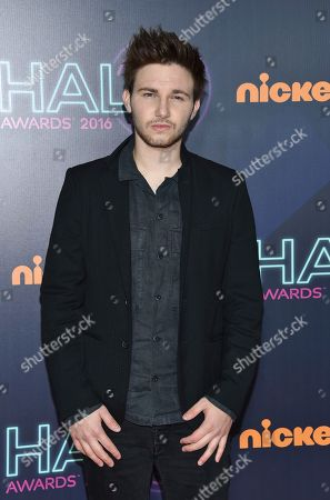 AJ Lehrman attends the 2016 Nickelodeon HALO Awards at Pier 36, in New York