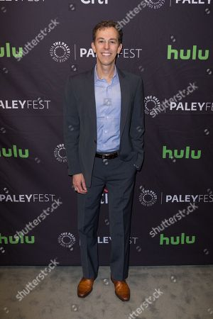 """Josh Berman, Executive Producer and Co-Creator of the television series """"Notorious"""" arrives at the 2016 PaleyFest Fall TV Previews at The Paley Center for Media, in Beverly Hills, Calif"""