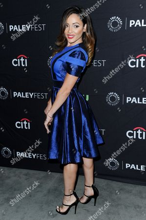 """Stock Image of Melissa Santos attends the """"Lucha Underground"""" screening and panel discussion at the 2016 PaleyFest Fall TV Previews, in Beverly Hills, Calif"""