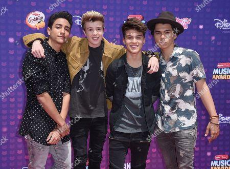 Editorial photo of 2016 Radio Disney Music Awards, Los Angeles, USA - 30 Apr 2016