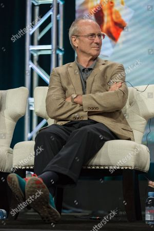"""William Hurt participates in the """"Goliath"""" panel during the Amazon Television Critics Association summer press tour, in Beverly Hills, Calif"""