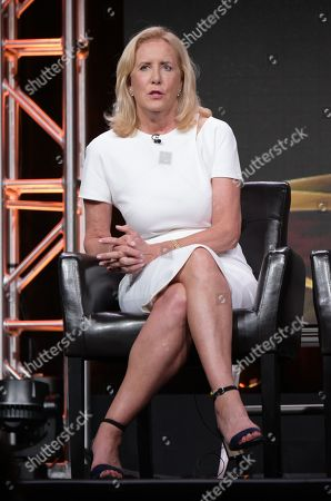 "Executive producer Wendy Walker participates in the ""Notorious"" panel during the Disney/ABC Television Critics Association summer press tour, in Beverly Hills, Calif"