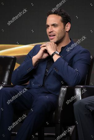 "Daniel Sunjata participates in the ""Notorious"" panel during the Disney/ABC Television Critics Association summer press tour, in Beverly Hills, Calif"