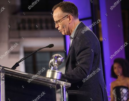 """Jonathan Murray accepts the Television Academy Honors Award for """"Born This Way"""" at 2016 Television Academy Honors at The Montage Hotel, in Beverly Hills, Calif"""