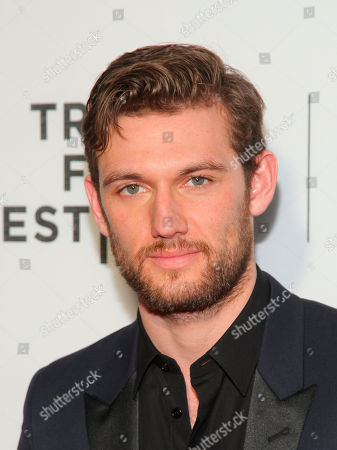 """Alex Pettyfer attends the """"Elvis & Nixon"""" world premiere screening during the 2016 Tribeca Film Festival at John Zuccotti Theater at BMCC Tribeca Performing Arts Center, in New York"""