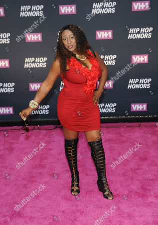 Suga-T attends the arrivals at VH1's Hip Hop Honors at David Geffen Hall at Lincoln Center, in New York