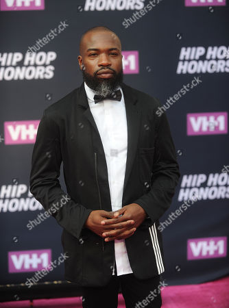 Darnell L. Moore attends the arrivals at VH1's Hip Hop Honors at David Geffen Hall at Lincoln Center, in New York
