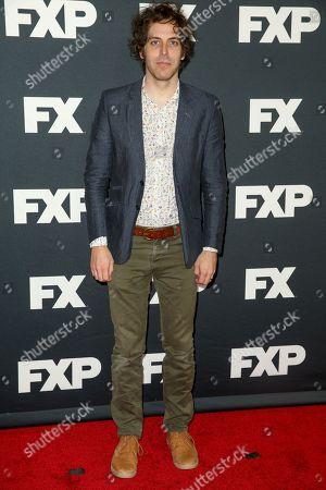 Jonathan Krisel arrives at the 2016 FX Winter TCA at the Langham Huntington Hotel & Spa, in Pasadena, Calif