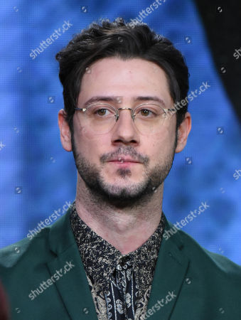 """Hale Appleman participates in syfy's """"The Magicians"""" panel at the NBCUniversal Winter TCA, Pasadena, Calif"""