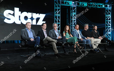 Editorial image of 2016 Winter TCA - STARZ, Pasadena, USA - 8 Jan 2016