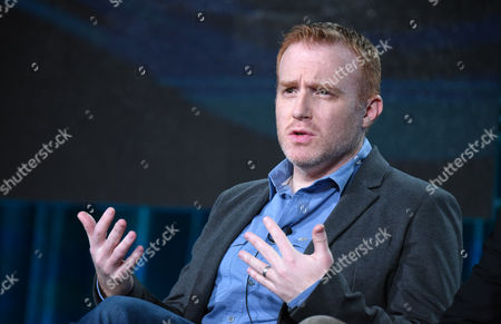 Stock Picture of Executive producer/showrunner Jonathan E. Steinberg participates in the panel for 'Black Sails' at the STARZ 2016 Winter TCA, in Pasadena, Calif