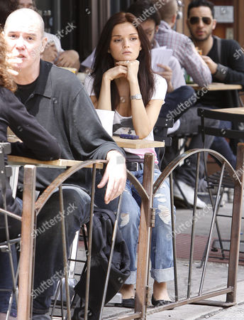 Editorial picture of Allie Crandell out and about in New York, America - 08 May 2009
