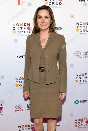 CBS News correspondent Margaret Brennan arrives at the 7th Annual Women in the World Summit opening night at the David H. Koch Theater, in New York