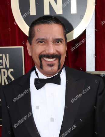 Steven Michael Quezada arrives at the 20th annual Screen Actors Guild Awards at the Shrine Auditorium, in Los Angeles