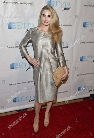 Elizabeth TenHouten attends the 21st Annual ETTA Gala held at The Beverly Hilton, in Beverly Hills, Calif