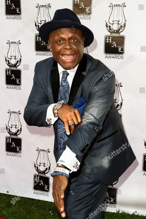 Stock Image of Comedian Michael Colyar attends the 26th Annual Heroes and Legends Awards held at The Beverly Hills Hotel, in Beverly Hills, Calif