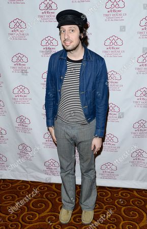 Singer-songwriter Adam Green arrives at the 26th Annual Tibet House Benefit Gala after party at Gotham Hall, in New York