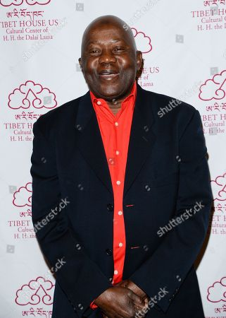 Stock Photo of Musician Foday Musa Suso arrives at the 26th Annual Tibet House Benefit Gala after party at Gotham Hall, in New York