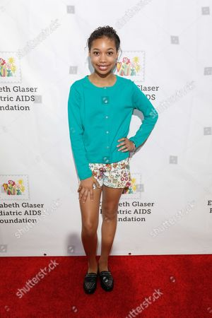 """Kyla-Drew Simmons arrives at the 27th Annual """"A Time for Heroes"""" Family Festival, in Culver City, Calif"""