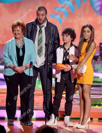 Editorial picture of 27th Annual Kids' Choice Awards - Show, Los Angeles, USA - 29 Mar 2014