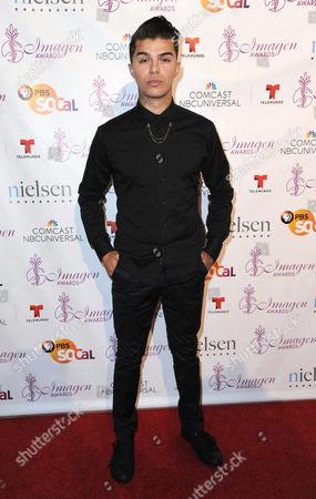 Andrew Jacobs arrives at the 29th annual Imagen Awards at the Beverly Hilton Hotel, in Beverly Hills, Calif