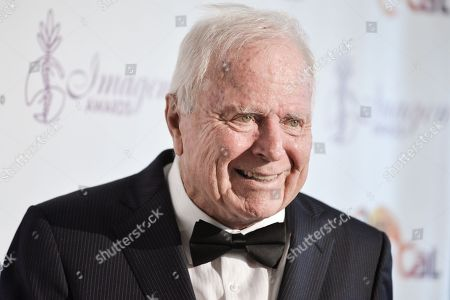 Richard Riordan arrives at the 29th annual Imagen Awards at the Beverly Hilton Hotel, in Beverly Hills, Calif
