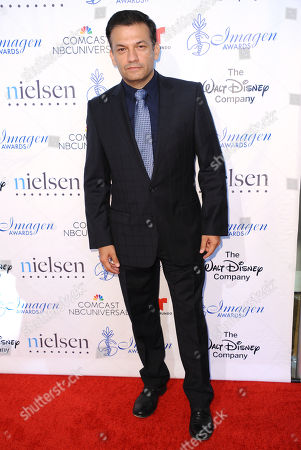 David Barrera arrives at the 30th annual Imagen Awards at the Dorothy Chandler Pavilion, in Los Angeles