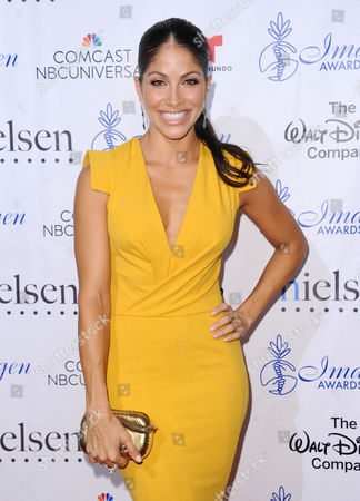 Valery Ortiz arrives at the 30th annual Imagen Awards at the Dorothy Chandler Pavilion, in Los Angeles