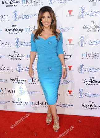 Maria Canals-Barrera arrives at the 30th annual Imagen Awards at the Dorothy Chandler Pavilion, in Los Angeles