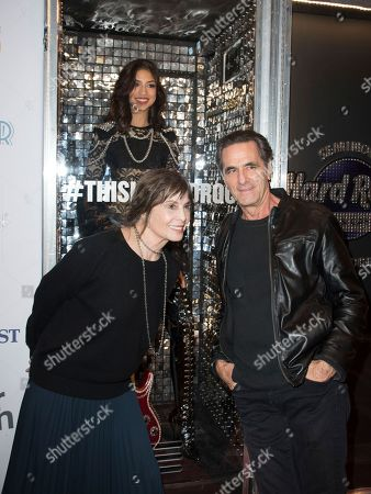 """Talia Shire, left, and Robin Thomas attend the 31st Annual FLIFF - Opening Night Premiere of """"Dreamland"""" at Seminole Hard Rock Live, in Hollywood, Fla"""