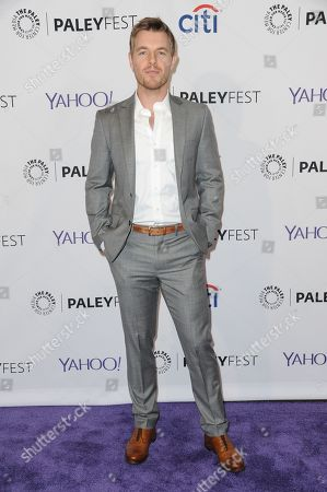 """Rick Cosnett arrives at the 32nd Annual Paleyfest : """"Arrow & The Flash"""" held at The Dolby Theatre, in Los Angeles"""